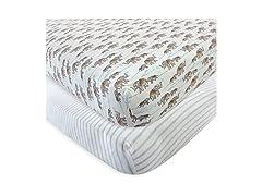 Organic Cotton Crib Sheet