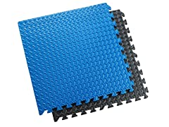 Interlocking Exercise Mats 6-Pack