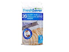 FoodSaver FreshSaver 26 Count Quart Vacuum Zipper Bags