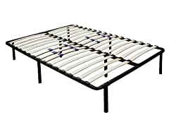 Wood Slat Storage Bed Base (5-Sizes)