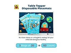 Table Topper Disposable Placemats