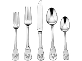 Cuisinart 40-Piece Flatware Set, French Rooster