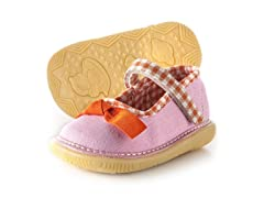 Mary Jane Squeaker - Gingham (3-8)