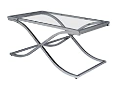 Vogue Chrome Cocktail Table