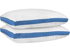 Utopia Bedding Gusseted Pillow- Set of 2- Queen