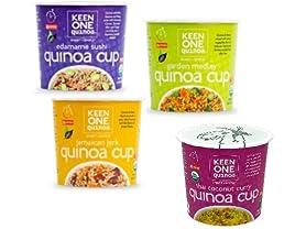 12 Pack Keen One Quinoa Cups