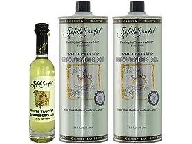 Saluté Sante Grapeseed Oil Combo