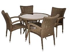 Bari 5-Piece Dining Set