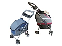 Stroller, Carrier & Car-Seat- 2 Colors