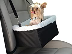 Adjustable Luxury Pet Car Booster Seat