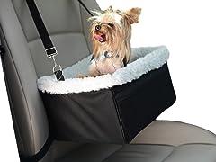 Adjustable Luxury Pet Car Booster Seat