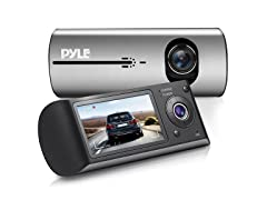 Pyle Dual Lens Gps Car Camera