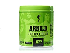 MusclePharm Arnold CRE3 30 Serving, Blue Razz