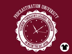 Procrastination University V-Neck