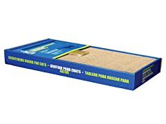 Catit Cardboard Scratching Board with Catnip