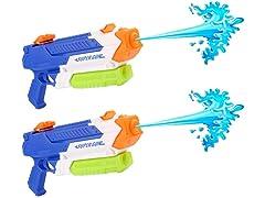 GROWOM Super Water Gun, 2-Pack