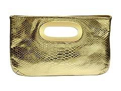 Berkley Clutch, Gold