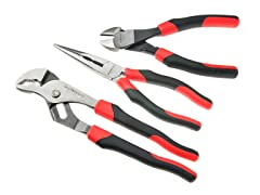 3-Piece Standard Pliers Set