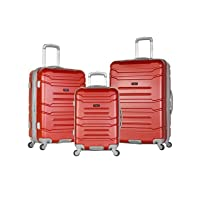 Deals on Olympia USA Denmark Hardcase Spinner Set 3 Piece