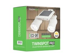 Touch Of ECO TWINSPOT PRO Dual Solar Motion Spotlight