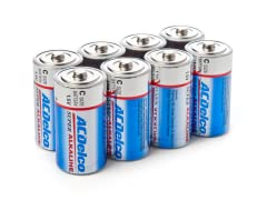 """C"" Alkaline Batteries - 8 Pack"