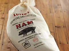 Luter's Smoked & Peppered Smithfield Ham - Whole Bone-In Leg