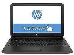 "HP 15.6"" AMD Quad-Core Touch Laptop"