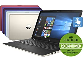 "HP 15.6"" Intel Quad-Core 1TB Touch Laptops"