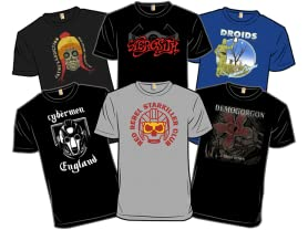 Band Shirt Derby: Top Tees!