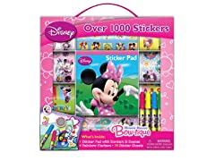 Disney Minnie Sticker Box