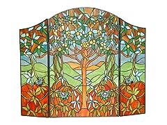 Tree of Life Fireplace Screen