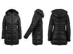 Women's Silhouette Style Puffer Jackets