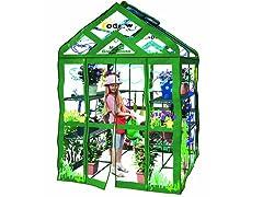 Walk-in 3-Tier 12-Shelf Kids Greenhouse