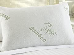 Bamboo Memory Foam Pillow - 2 Sizes