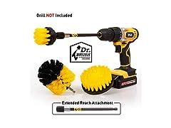 Holikme 4Pack Drill Brush Power Scrubber