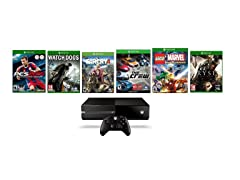 Xbox One 1TB with 6 Games