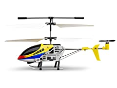 "Riviera Infrared 7"" Mini Yellow Thunderbird RC Helicopter"