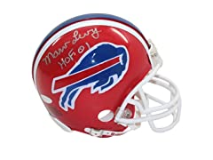 Marv Levy Signed Buffalo Bills Mini Helm