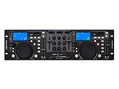 Rack Mount Professional Dual DJ Controller