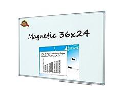 Lockways Magnetic Dry Erase Board