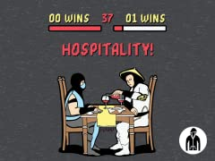 Hospitality! Jersey Zip Hoodie