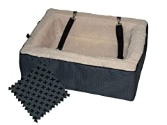 Pet Gear 18in Booster - Designer Slate