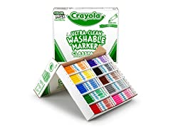 200 ct. Fine Line Washable Markers Classpack® - 10 Colors