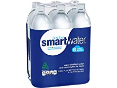 smartwater Vapor Distilled Water Bottle 1L - 6pK