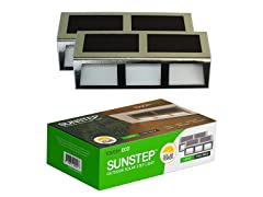Solar Sunsteps Outdoor Lights, Large