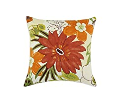 Lilith Marigold-Natural 17x17 Pillow