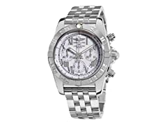 Men's Chronomat Chronograph White Dial