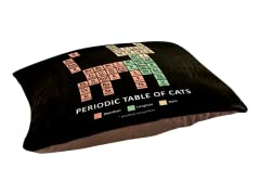 """""""Cat Periodic Table"""" Small Pet Bed"""