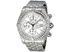 Men's Evolution Diamond Bezel White Dial