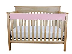 Jersey Crib Wrap Med Rail Cover for Front/Back - 5 Colors
